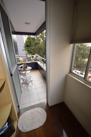Sion venda apartamento 3 qts 122m²  varanda 2 vgs - Foto 12