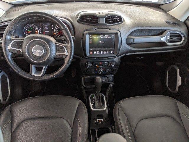 Jeep Renegade 1.8 Flex Longitude Automático 2019 Branco! - Foto 13