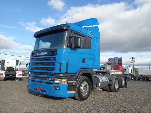 Scania R124 420 6x2 - Foto 2