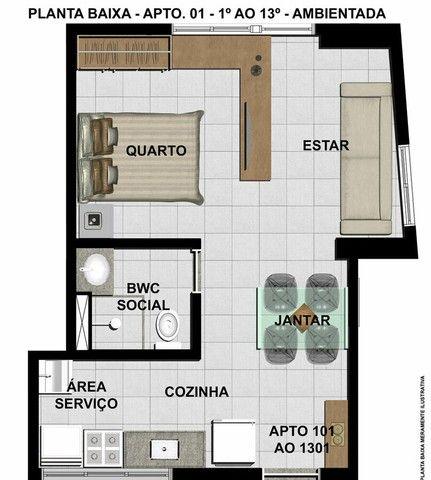 ACT   Flat de 32 m²   Aflitos (Oportunidade) - Foto 17