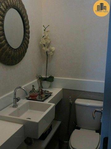 Apartamento com 4 suítes, vista mar em ´Patamares,3 vagas, Nascente. - Foto 9