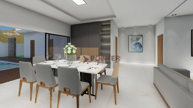 Sobrado com 4 dormitórios à venda, 615 m² por R$ 1.899.000,00 - Condomínio do Lago - Goiân - Foto 9