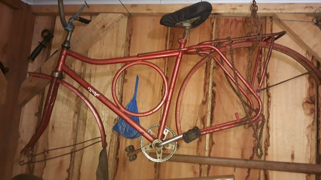 bicicleta monark barra forte ano 80