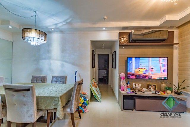 Apartamento para venda tem 85 metros quadrados com 3 quartos - Foto 2