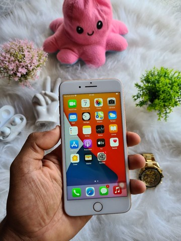 iPhone 8 Plus Gold rosê  - Foto 2