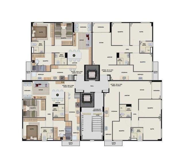 Recife - Apartamento Padrão - Barro - Foto 17