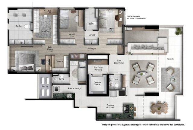 Vitória -  Apartamento Padrão  - ENSEADA DO SUA - Foto 9