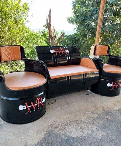 Sofá / poltrona / móveis rústicos / cadeiras  - Foto 5
