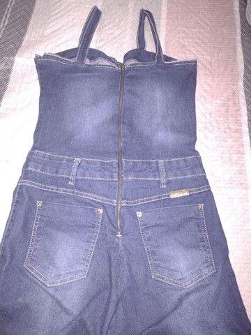 Macacão longo jeans - Foto 3
