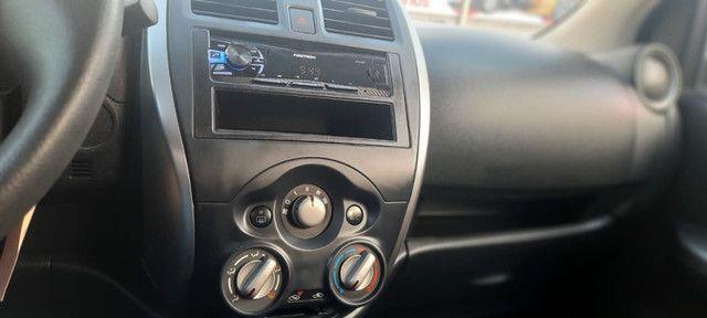 Nissan March S 1.0 2015 ent. + R$849,00 mês - Foto 7