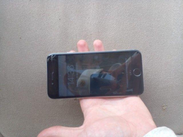 Troco iPhone 6 64 Gb bateria 100% por Android ou pc gamer