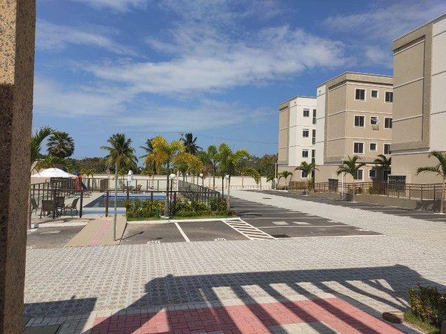 APT 128, Messejana, apartamento novo no 1º andar com 02 quartos, piscina - Foto 9