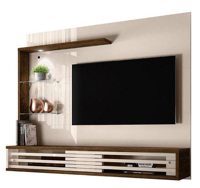 "Painel Suspenso para TV de 50"" Frizz Select - Madetec<br> - Foto 2"
