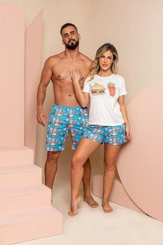 Pijamas CASAL LUXO  - Foto 5