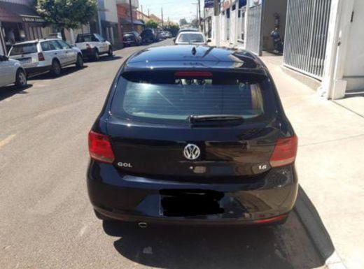 Volkswagen gol preto  2014 1.6 mi highline 8v flex 4p manual  R$28.795 - Foto 6