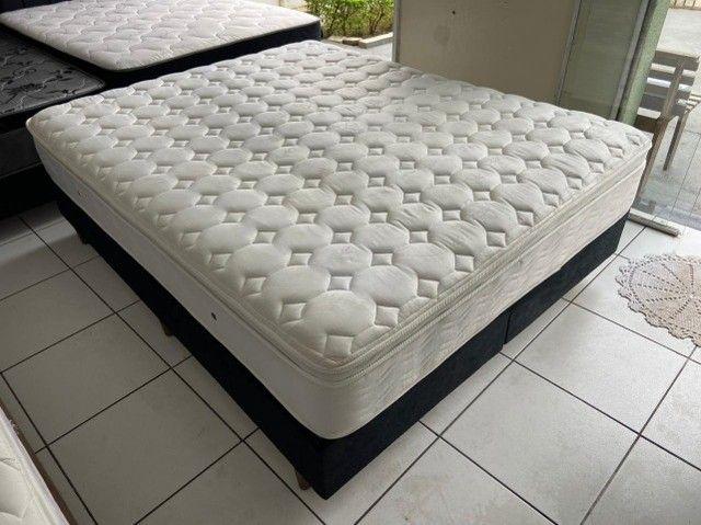 cama box queen size - Maxflex - conforto - qualidade - beleza - Foto 6