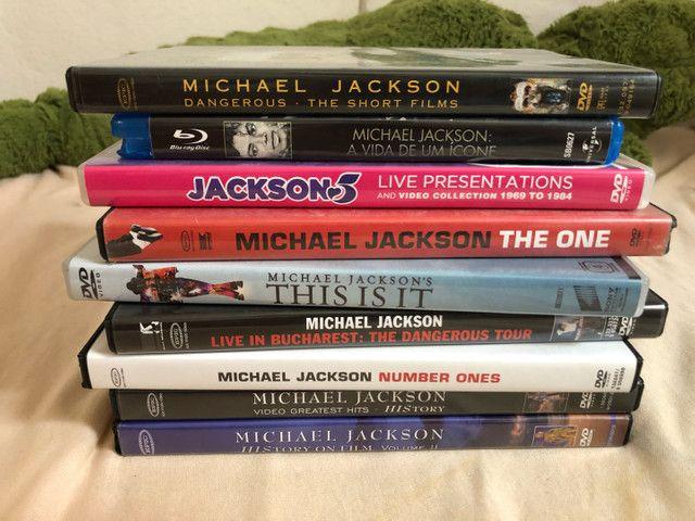 9 dvds originais Michael Jackson - Foto 6