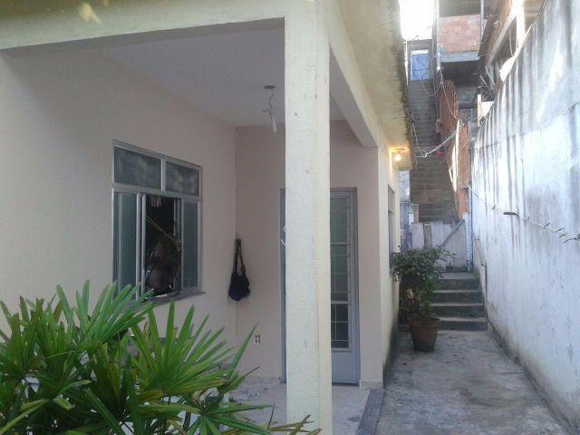 Casa Jacarepagua-RJ, com Quintal - 195 mil