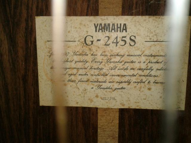 Violão yamaha G-245S