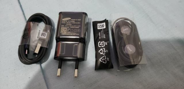 Kit acessórios originais Samsung S8 S9 Plus