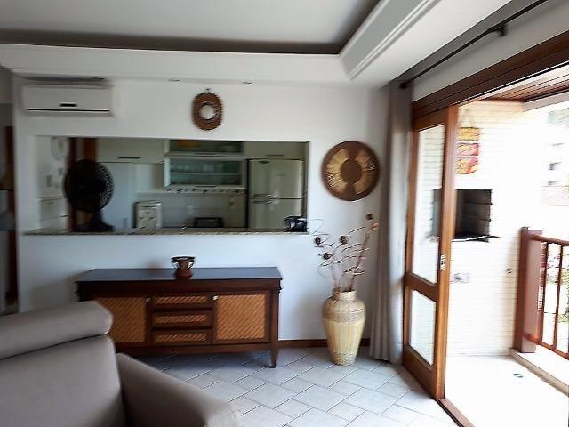 Apto 3 dorm no Grand Bali, frente mar, segurança 24 hs, lazer completo, mobiliado, ar cond - Foto 10