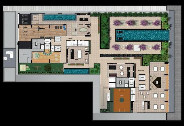Res. Único Marista 135, Apartamento 150 m², 3 suítes, 2 vagas, Setor Marista, Goiânia - Go - Foto 17
