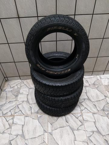 vendo pneus originais da saveiro cross com apenas 2 meses de uso - 2019