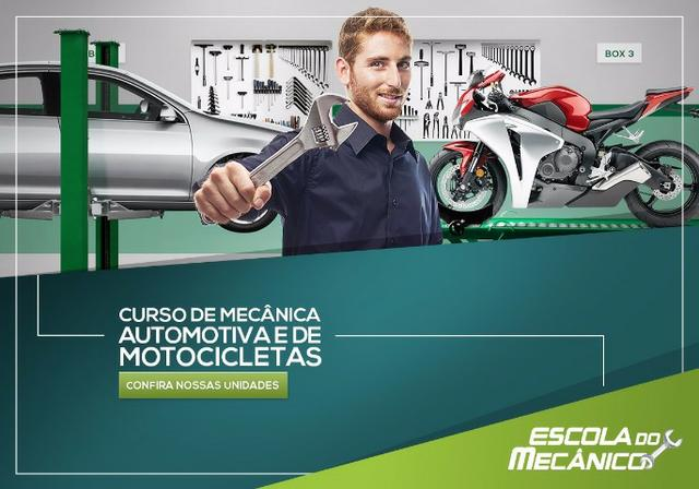 Curso de Mecânica completa de Carro e Moto em São José dos Campos - SP