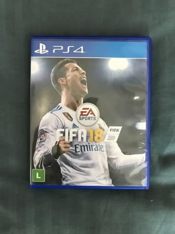 PS4 Game FIFA 18 EA Sports