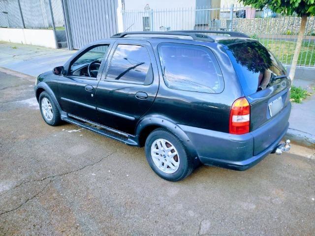 Fiat Palio Weekend Adventure 2001 - 1.6 - 4P - Gasolina - 16V - Completo - Foto 5