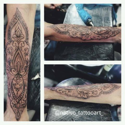 Tattoo profissional em domicílio Leiam