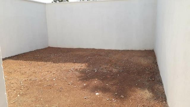Linda Casa Nova Financia 2/4 Sendo 1 Suíte Na Laje Casa Individual Frente Pra Sombra - Foto 13