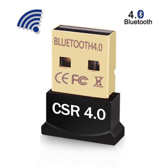 Mini Adaptador Receptor de Áudio Bluetooth USB 4.0 CSR