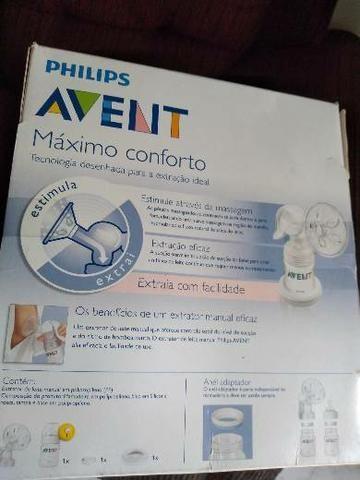 Extrator de leite manual 110 reais - Foto 2
