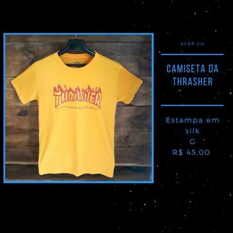 Camisa da thrasher e high - Foto 3