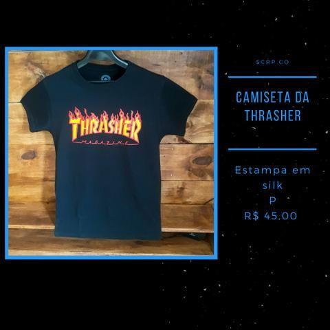 Camisa da thrasher e high - Foto 2