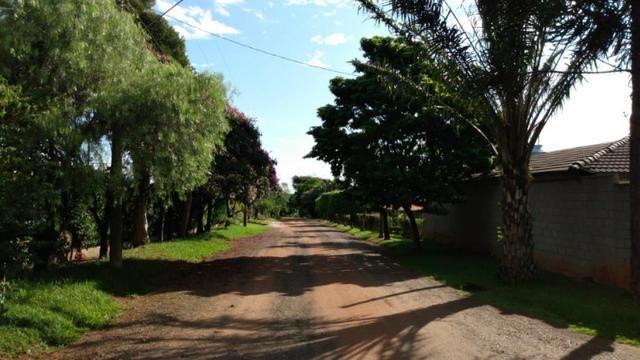 Chác. em cond. fechado, aceita imóvel de menor valor na região de Cosmópolis-SP.(CH0036) - Foto 4
