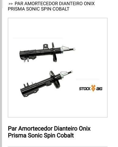 Par Amortecedor Dianteiro Onix Prisma Sonic Spin Cobalt