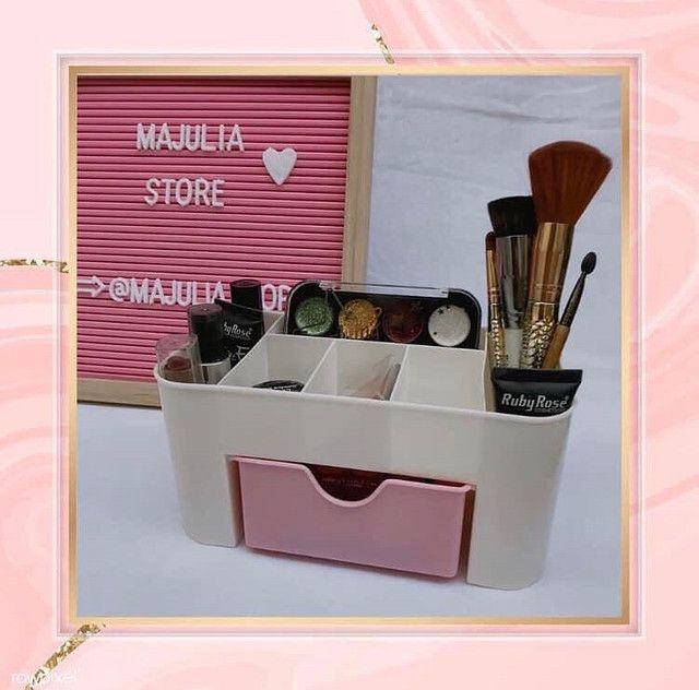 Organizador para cosméticos/maquiagem