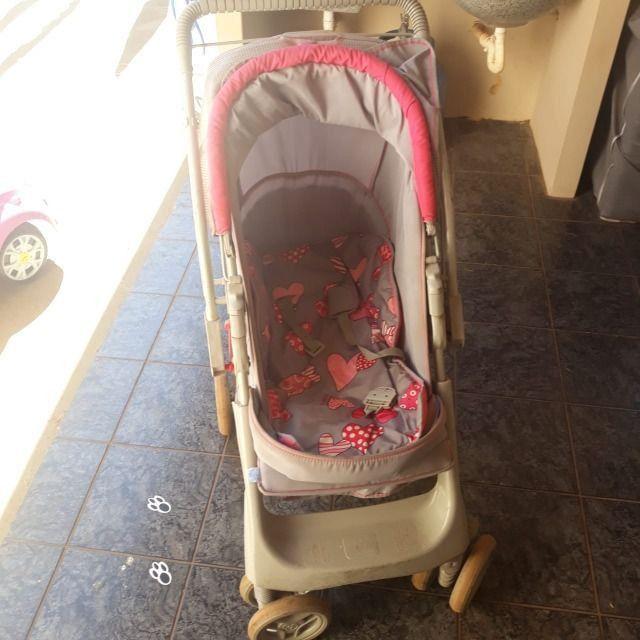 Carrinho de bebê e Berço portátil - Foto 3