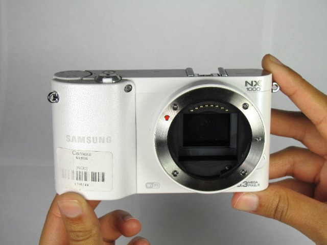 Câmera Digital Samsung Smart NX1000 - Mirroless - Foto 6