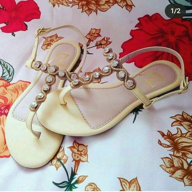 Sapatos femininos diversos modelos variados número - Foto 6