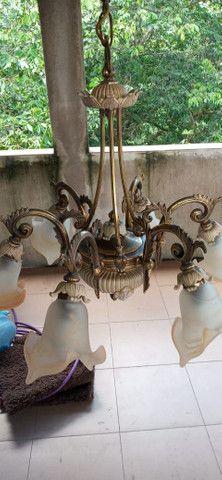 Lustre colonial R$ 350,00 cada - Foto 5