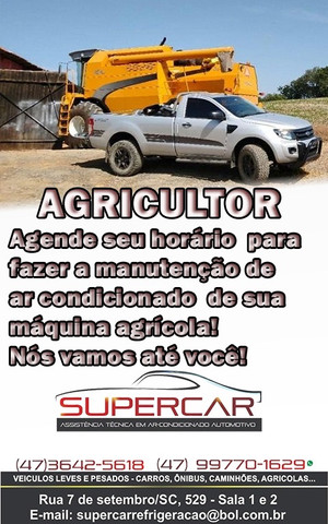Conserto de sistema de ar condicionado agrícola