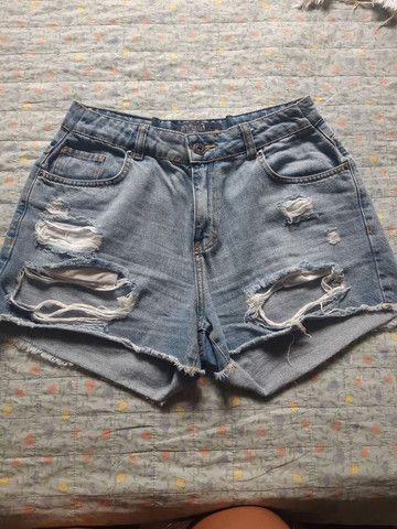 Desapego de shorts semi novos de marca: Walery, South, espaço fashion e YSC. - Foto 5