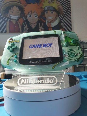 Game Boy Advance Original Edição Bulbasaur Ips v2