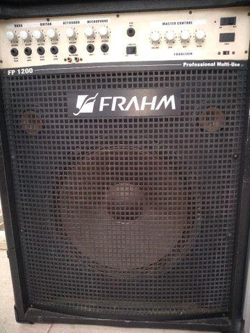 Vendo essa caixa amplificada de 1200 watts - Foto 2