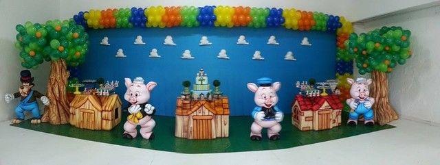 venda de decoração para festa infantil - Foto 4