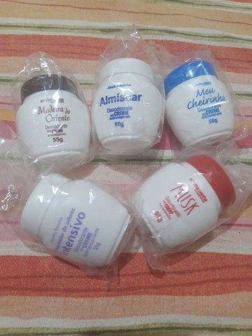Kit com 06 Desodorantes Creme Abelha Rainha