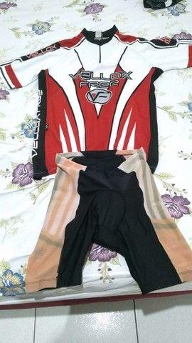 Camisa e chorte de ciclismo,camisa G,chorte P - Foto 2